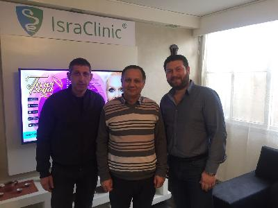 Вице-мэр Кирьят-Гата выразил благодарность реабилитационному центру «IsraClinic»